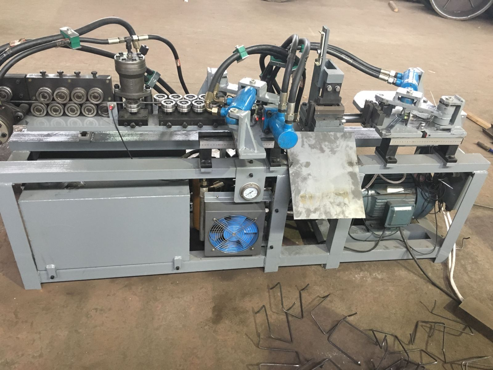 Auto Post Tension Cold Drawn Bending Machine