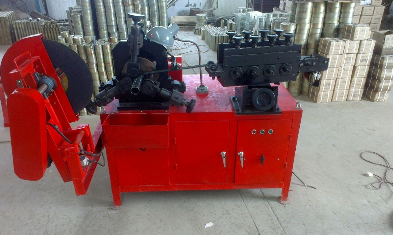post tension duct machine