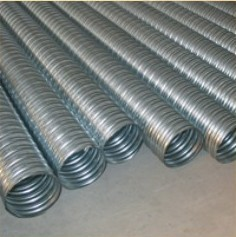 Galvanized steel spiral duct